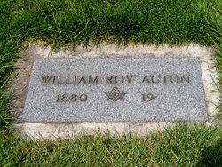William Roy Acton