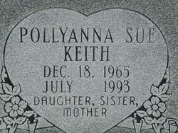Pollyanna Sue Keith (1965-1993) - Find A Grave Memorial
