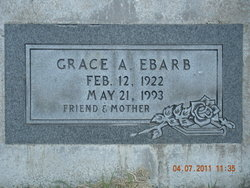Grace Alice <I>Bloomquist</I> Ebarb