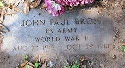 John Paul Bross