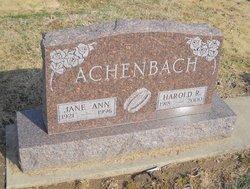 Harold R Achenbach