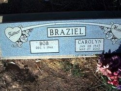 Carolyn Anita <I>May</I> Braziel