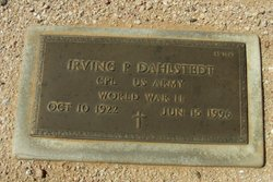 Irving P Dahlstedt