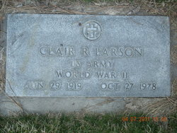 Clair Ray Larson