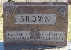 Lessie B. <I>Hidlebaugh</I> Brown