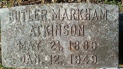 Butler Markham Atkinson