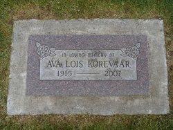 Ava Lois Korevaar
