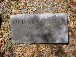 Emma L <I>Lyle</I> McKibbin