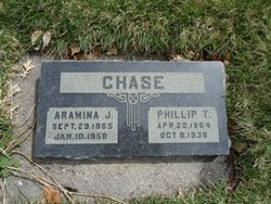 Aramina G <I>Johnson</I> Chase