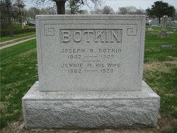 Jennie M. <I>Pratt</I> Botkin
