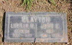 Lucille Victoria <I>Klahr</I> Clayton