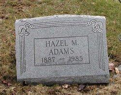 Hazel Maria <I>Rawson</I> Adams