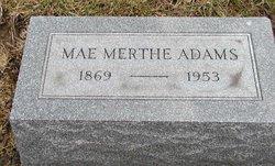 Mae West <I>Merthe</I> Adams
