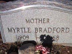 Myrtle <I>Christopher</I> Bradford