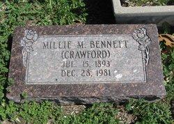 Millie Minerva <I>Stepp</I> Bennett
