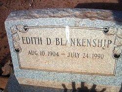 Edith D Blankenship