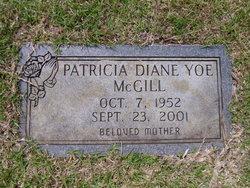 Patricia Diane <I>Yoe</I> McGill