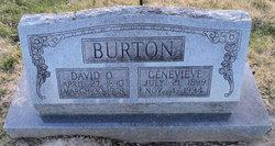 Genevieve <I>Wood</I> Burton