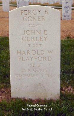 TSGT John E Curley