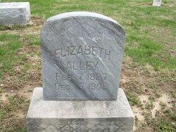 Elizabeth <I>Sutton</I> Alley