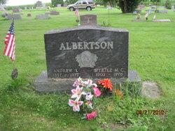 """Andrew T """"Snooks"""" Albertson"""