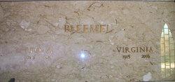 Virginia Inez <I>Eldridge</I> Bleemel