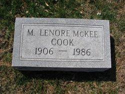 Myrtle Lenore <I>McKee</I> Cook