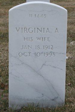 Virginia A <I>Lahr</I> Ahmann