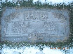 Harold John Broomhead Banks