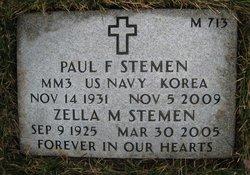 Paul Franklin Stemen