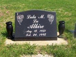 "Lula ""Lu"" <I>Wallen</I> Alkire"