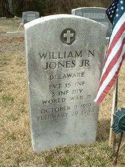 Pvt William Nolan Jones, Jr