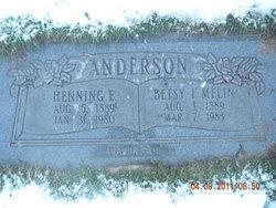Betsy Ingeborg <I>Melin</I> Anderson
