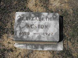 "Elizabeth Bell ""Lizzie"" <I>Muse</I> Alston"