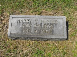"Henry Velora ""Harry"" Foster"