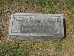 """Florence Bell """"Florrie"""" <I>Ellis</I> Foster"""