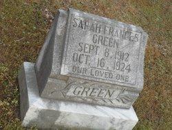 Sarah Francis Green