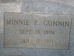 Minnie E. Gunnin