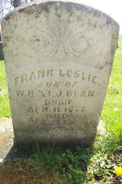 Frank Leslie Blan