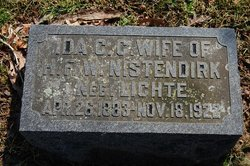Ida Caroline Charlotte <I>Lichte</I> Nistendirk