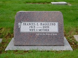 Frances Elsie <I>Rasmussen</I> Hagglund