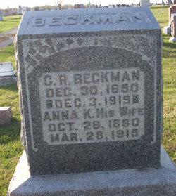 Anna K Beckman