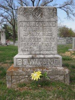 Mary F. <I>Bailey</I> Bowland