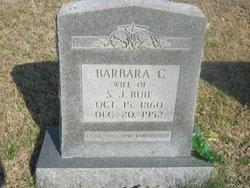 Barbara Caroline <I>Tysinger</I> Buie