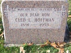 Cleo Lillian <I>Burris</I> Hoffman
