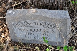 Mary Katherine <I>Conner</I> Childers