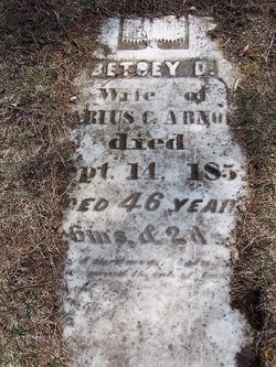 Betsey <I>Eddy</I> Arnold