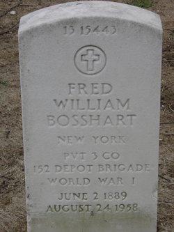 Fred William Bosshart
