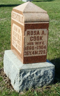 Rosa A <I>Cook</I> Bechtold