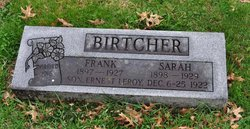 Sarah <I>Betts</I> Birtcher